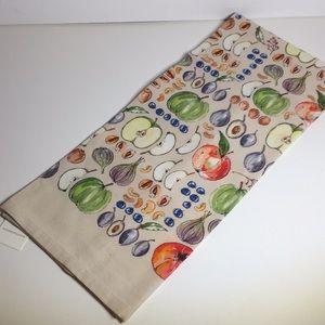 Garden Vegetable Dish Towel